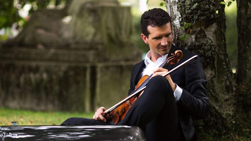 Светлин Русев, цигулка. Снимка: ndk.bg