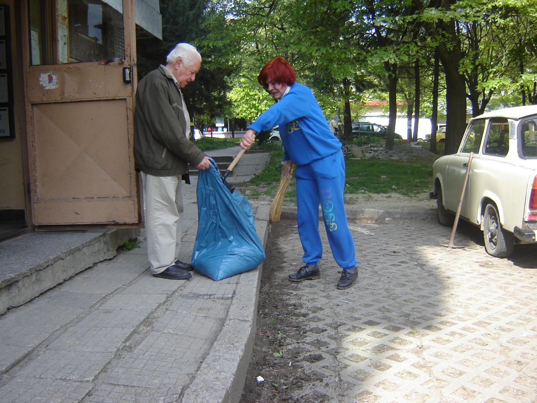 Пролетно почистване Шумен