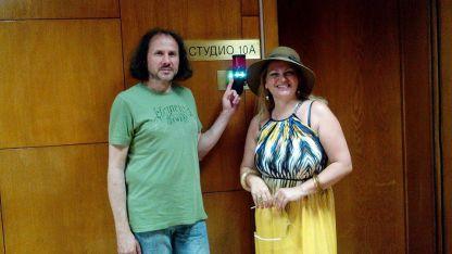 Петър Чухов и Диляна Георгиева