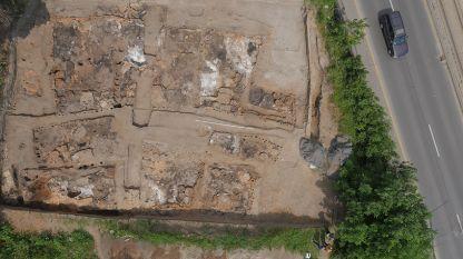 """Археологически обект в кв. """"Слатина"""", София, с основите на най-големите, открити досега в Европа, неолитни сгради"""