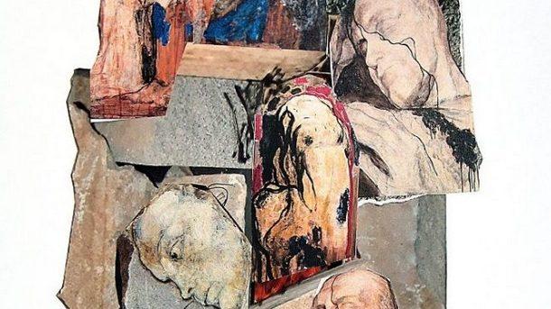 Колаж от рисунките на Светлин Русев, които е трябвало да бъдат пренесени върху камък.