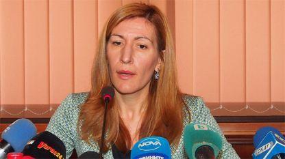 Bulgarian Minister of Tourism Angelkova