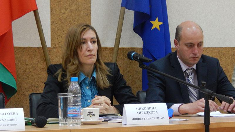 Министърът на туризма Николина Ангелкова посети Видин