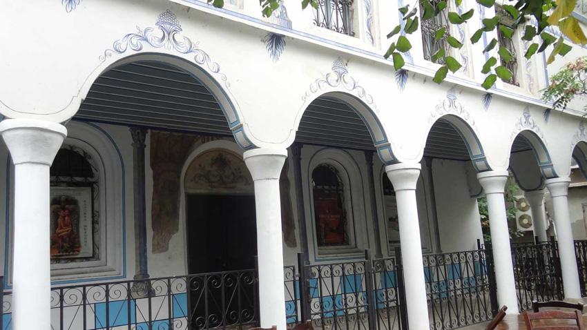 Pazarcik'te büyük sinagog.