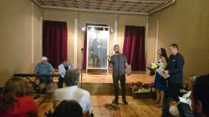 Захари Карабашлиев с наградата