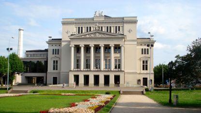 Сградата на операта в Рига