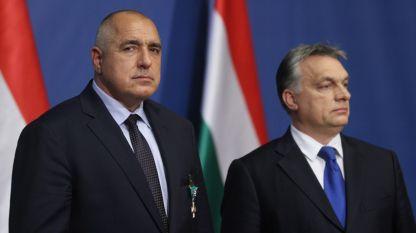 Bojko Borissow und Viktor Orbán
