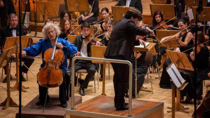 Миша Майски солира на Радиооркестъра с диригент Александър Земцов