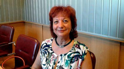 """Доц. д-р Надежда Дончева, клиничен липидолог, в студиото на програма """"Христо Ботев""""."""