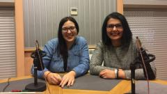 Виолета Димитрова и Таня Терзийска в студиото на