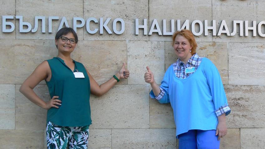 Мария Боровик и Наталия Ушкова