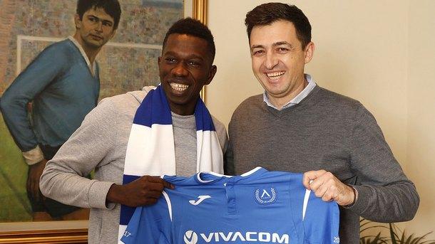 """Сенегалският халф Хали Тиам подписа договор с футболния Левски"""", съобщиха"""