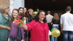 Първи учебен ден в ГПЧЕ Йордан Радичков Видин, 15 септември 2014, архив