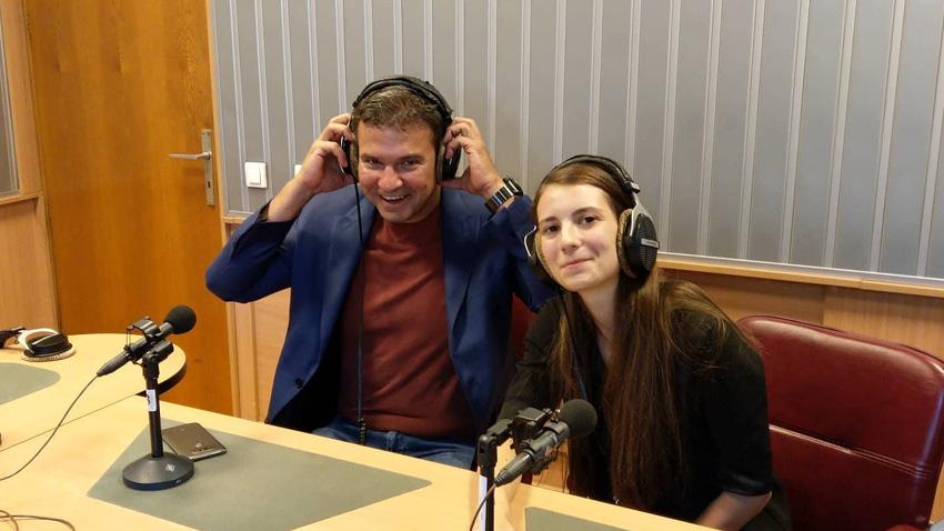 Борис Бегъмов и Мартина Кръстева