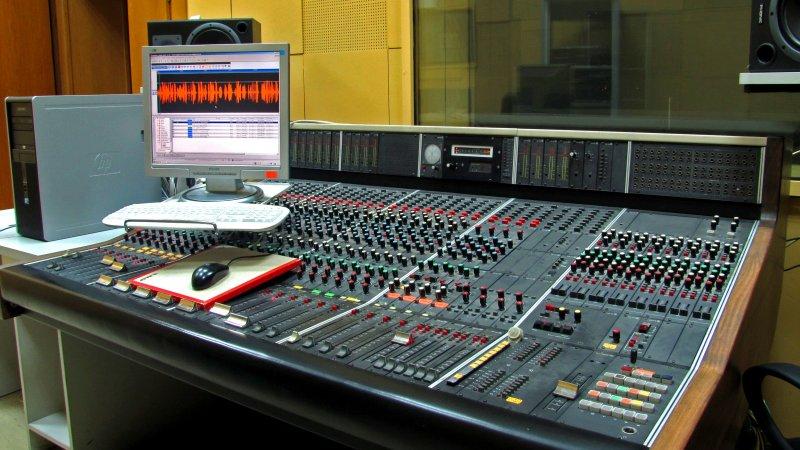 Звукозаписна апаратна 1