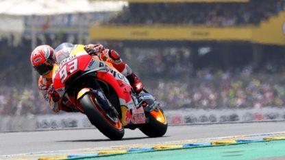 Марк Маркес може да кара още в Гран при на Катар.