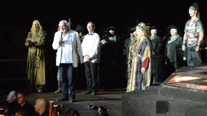 Директорът на Софийската опера и балет акад. Пламен Карталов по време на фестивала в Белоградчик