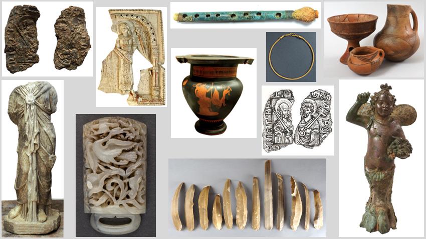Експонати включени в изложбата