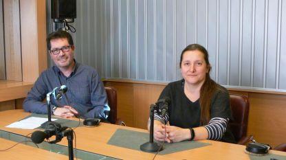 Мариян Дянков и Боряна Рашкова в студиото на