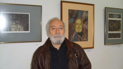 Йордан Велчев до своя автопортрет