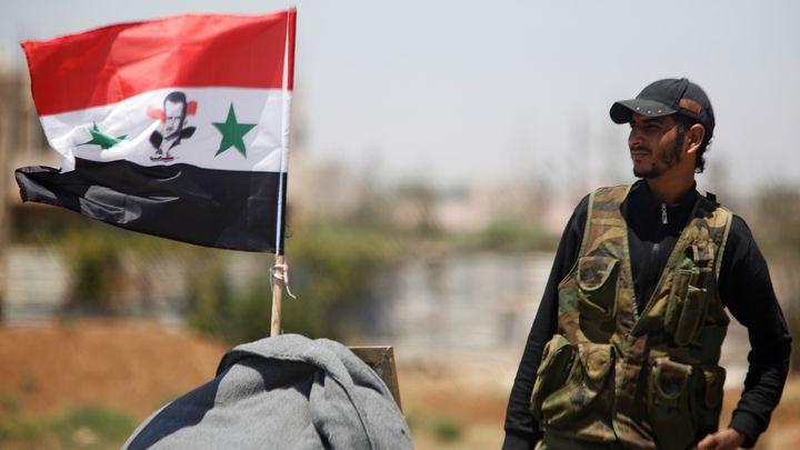 Сирийската армия влезе днес в контролираната от бунтовници част на