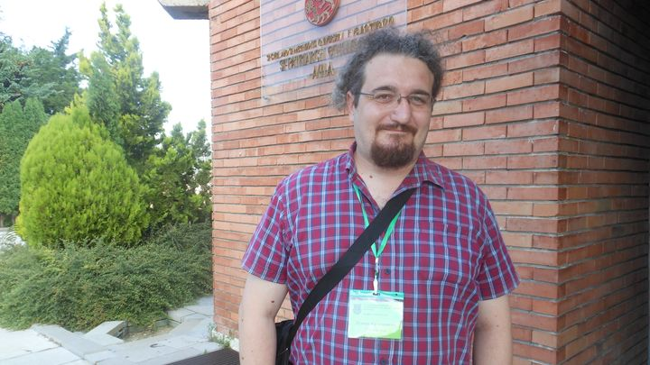 Македонският поет и преводач Душко Кръстевски