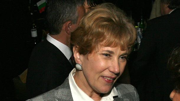 Елена Поптодорова, бивш посланик на страната ни в Съединените щати