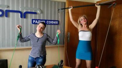 Ивелина Енчева и водещата Олга Добрева