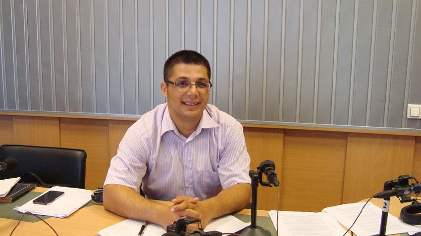 Стоян Ставру в студиото на предаването. Снимка: Кирчо Стоичков