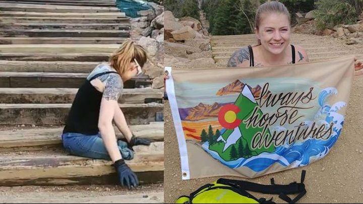 Американка с два ампутирани крака изкачи за 4 часа над