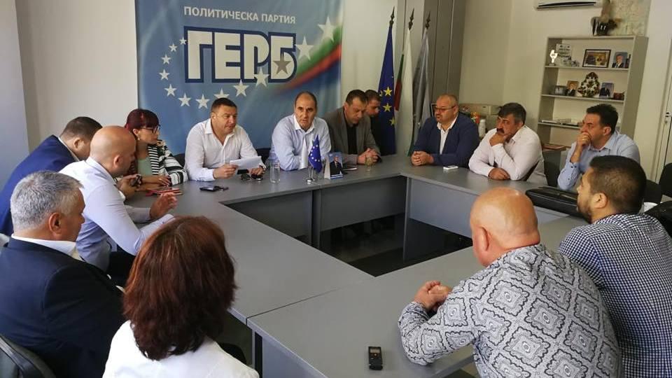 Цветан Цветанов се срещна с активисти на ГЕРБ в Благоевград