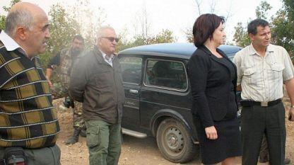 Областният управител Живка Аладжова е на мястото на пожара