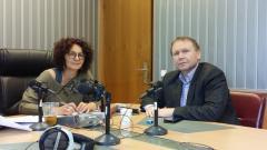 Михайлина Павлова и Мехмед Юмер в студиото на предаването.