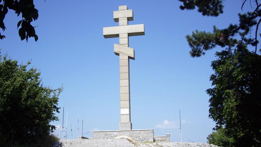 Памятник Христо Ботеву на вершине Околчица