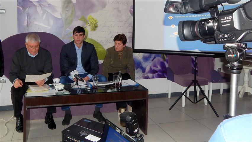 Пресконференция на Сдружение БОКАЯ, Снимка: Ваня Минева