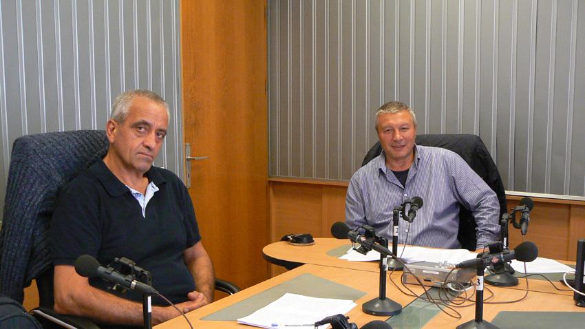 Любен Козарев (вляво) и Митко Новков.