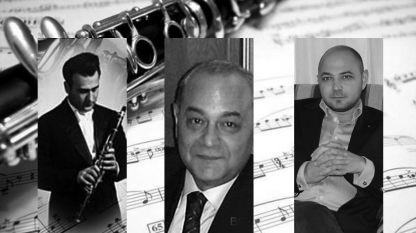 Кларинетът - обща съдба на три поколения от едно семейство:проф. Сава Димитров, проф. Димитър Димитров, проф. Сава Димитров