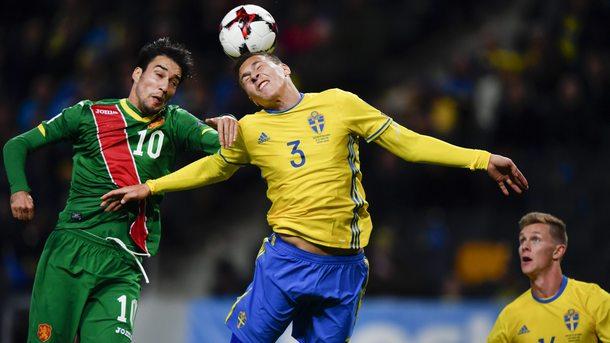 И Швеция победи България в квалификациите за Мондиал 2018