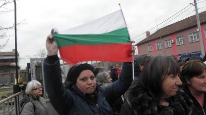 протестиращите шивачки от Дупница
