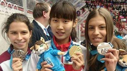 Катрин Маноилова с първи медал от Лилехамер