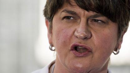 Арлийн Фостър, лидерката на Демократичната юнионистка партия