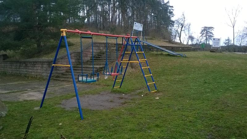 Място за игра на най-малките в Белоградчик