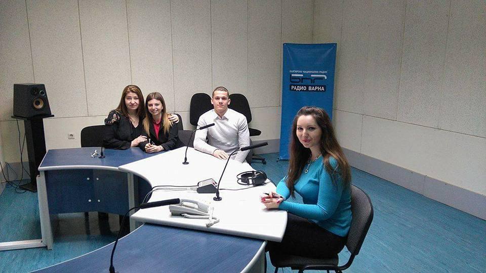 Милена Михайлова, Цвети и Живко на гости в Радио Варна