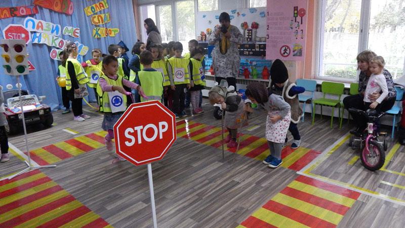 Правилата за движение трябва да се научат още преди детето да стане ученик