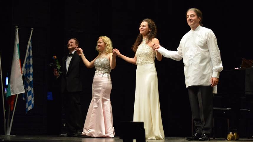 Участниците в Българските музикални вечери в Мюнхен 2017