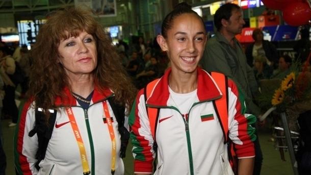 Лиляна Георгиева и нейната треньорка Радмила Станкович