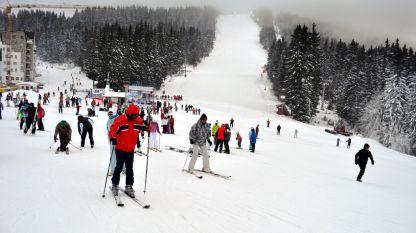 Изглед от курорта Пампорово.