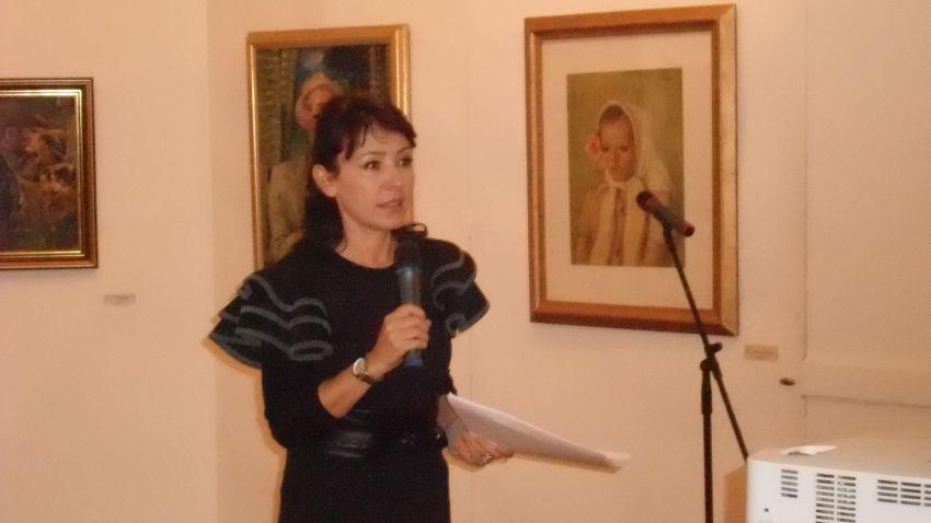 Алберта Алкалай говори на мемориална вечер