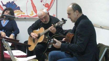 Димитър Вълчев (вдясно) и Красимир Първанов (вляво)