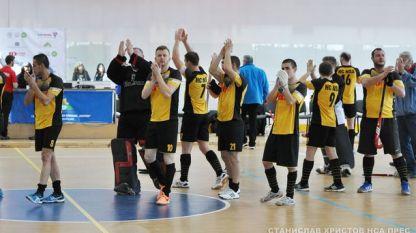 """Отборът на НСА запази мястото си в първа дивизия на турнира """"Сhallenge"""" по хокей в зала"""